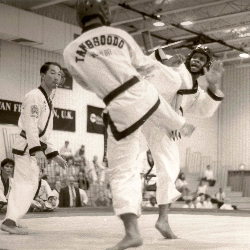 1999 Dan Testing Black Belt Fighting